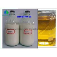 Oil - Based Injectable Finished liquid Bodybuilder  Anabolic Steroids Stanozolol Winstrol 50mg For Fat Loss Manufactures