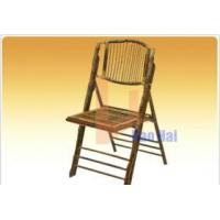 China sell bamboo folding chair on sale