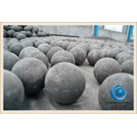 China Low Breakage Rate cast steel iron grinding ball Low wear resistant grinding media wholesale