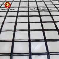 Factory Supply Bitumen Coated Asphalt Road Reinforcement Geogrid with CE Mark Manufactures