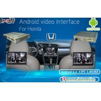 China Honda Multimedia Video Interface Android Navigation , Headrest Dispaly , Mobile Phone Mirrorlink on sale