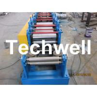 Custom Steel Lip Channel / C Profile / C Section Roll Forming Machine For GI, Carbon Steel Manufactures