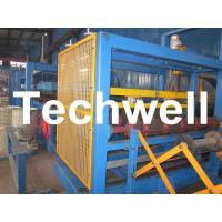 China Rock Wool Sandwich Panel Machine / Insulated Roof Wall Sandwich Panels For Cool Room on sale