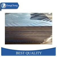 China 100 - 1500mm Width Checker Plate Aluminum Sheets Floor Material For Airplane on sale