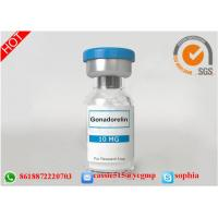 Human Growth Hormone Somatropin , Human Growth Steroids Lyophilized Powder Gonadorelin Manufactures
