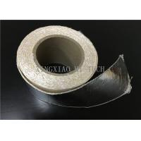High Temperature Resistant Fireproof High Silica Fabric Tape Aluminum Foil Coated Manufactures
