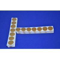 Quality Various Color Double Sided Self Adhesive Hook and Loop Coins Customized Roll for sale