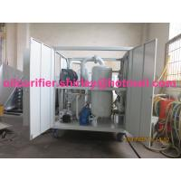 Insulation Oil Recycling / Tranformer Oil Regeneration Waste Transformer Oil Purifier Series ZYD-I Manufactures