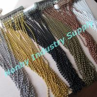 China Sparking 6mm Ball Bead Hanging Metal Chain Curtain on sale