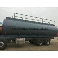 Hydrochloric Acid Tank Body 25500L For South America Trucks Manufactures