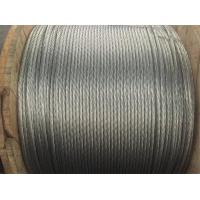 High Performance Galvanized Guy Wire 5 16 Inch For Power Cable , Hose Wire Manufactures