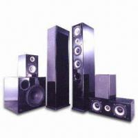 Hi-end Home Theater Speaker System in Glossy Piano Black Finish Manufactures
