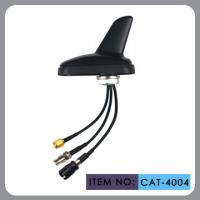 Auto AM FM Gps External Antenna , Shark Fin Car Aerial RHCP Polarization Manufactures
