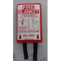 Multipurpose Emergency Fire Blanket , Fire Resistant Blanket In PVC Red Bag Manufactures