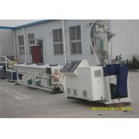 China 16-63Mm Water Supply Pvc Pipe Making Machine With CE Certificate , Siemens Motor on sale