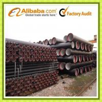 ISO2531 EN545 Ductile Iron Pipe DN80-1200 T type K9 Manufactures