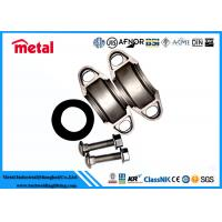 China Turbo Exhaust Quick Release Alloy Steel Pipe Fittings Stainless Steel Clamp on sale
