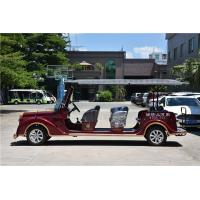 Quality Low Noise Electric Vintage Cars , 8 Person Classic Electric Vehicle For Tourist for sale