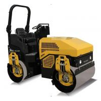 China 3 Ton Ride - On Road Roller For Asphalt Roads With Yanmar Engine  CE SGS on sale