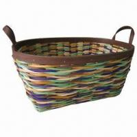 Rattan Storage Fruit Basket, Available in Assorted Color Manufactures
