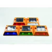 Embedded LED Cat Eyes With Flashing Or Steady Lighting For Road Construction Safety Manufactures