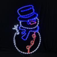 China 2019 Christmas newest arrival LED rope light motif lights IP55 garden outdoor commercial / household decoration lighting on sale
