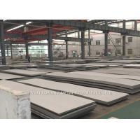 Hairline Finish Hot Rolled Stainless Steel Sheet 430 With PE Film Cover Manufactures