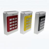 Standalone RFID Card Smart Card And Pin Door Access Control System Card Reader Manufactures
