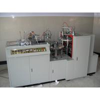 China Steel Disposable Paper Cup Making Machine 45-50pcs/Min White 2-16oz 220V 50HZ on sale