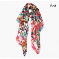 Buy cheap Silk Habotai digital Printing Scarf from wholesalers