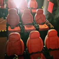 Excellent Design Electric 5D Theater Seats For Mini Cinema Red Color Manufactures