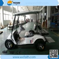 2 Front Seats Plus 2 Rear Seats Cheap Electric Golf Cart for Sale Manufactures
