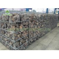 Quality PVC Coated Welded Gabion Box / Gabion Retaining Wall For River Control for sale