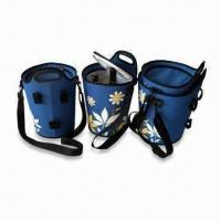 Bottle Cooler Bags with One Compartment and Adjustable Strap, Measures 24 x 24 x 39cm Manufactures