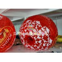 China Outdoor Inflatable Games Colorful Inflatable Zorb Ball for Human , Human Hamster Ball . on sale