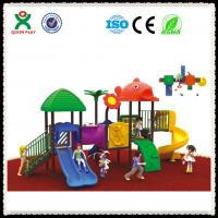 Play School Equipment Kids Outdoor Playsets Wholesale QX-056A Manufactures