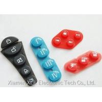 Conductive Silicone Rubber Keypad For Auto Silicone Parts OEM ODM Available Manufactures