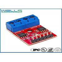 FR4 Base Material ndustrial PCB Electronic 1OZ Copper Thickness RoHS Approved Manufactures