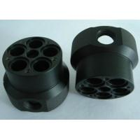 Custom black ABS machined plastic parts by material cutting, CNC turning and CNC milling Manufactures
