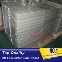PET 51X71CM 75LPI 0.45mm Lenticular Sheet with super transpancy for making Lenticular 3D Cards by UV printer in Spain Manufactures