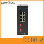 Unmanaged 8 Port / 10 Port Network Switch ,  802.3u Ethernet Fiber Switch Manufactures