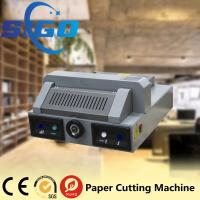 China SG330 desktop electric paper cutting machine paper guillotine paper cutter 320mm cutter on sale