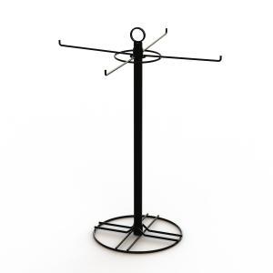 4 Wire Hooks Spinner Tabletop Display Racks For Eyewear Retainer Manufactures