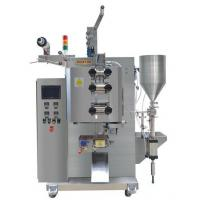 High Precision Sauce Packaging Machine / 3.8KW Power Food Packaging Equipment