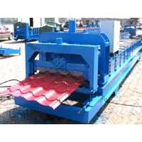Color Steel Glazed Tile Roll Forming Machine with PLC Computer Control to Europe Manufactures