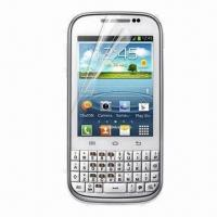 Clear Screen Protectors for Samsung Galaxy Chat B5330/Anti-glare/Mirror/Privacy/3D Available Manufactures