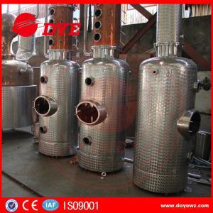 Beautiful Design Copper Distiller Gin Distillery Machine With Gin Baskey Manufactures