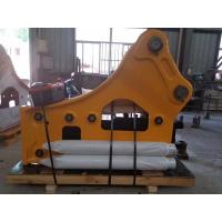 China Side Type Hydraulic Excavator Attachments , Excavator Breaker Attachment Fast Speed on sale