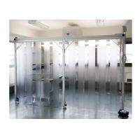 SUS304 / SS304 Class 100 Pharmacy Clean Room With PVC Plastic Curtain Wall Manufactures