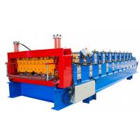 Easy Installation Double Layer Roll Forming Machine , Tile Forming Machine Manufactures